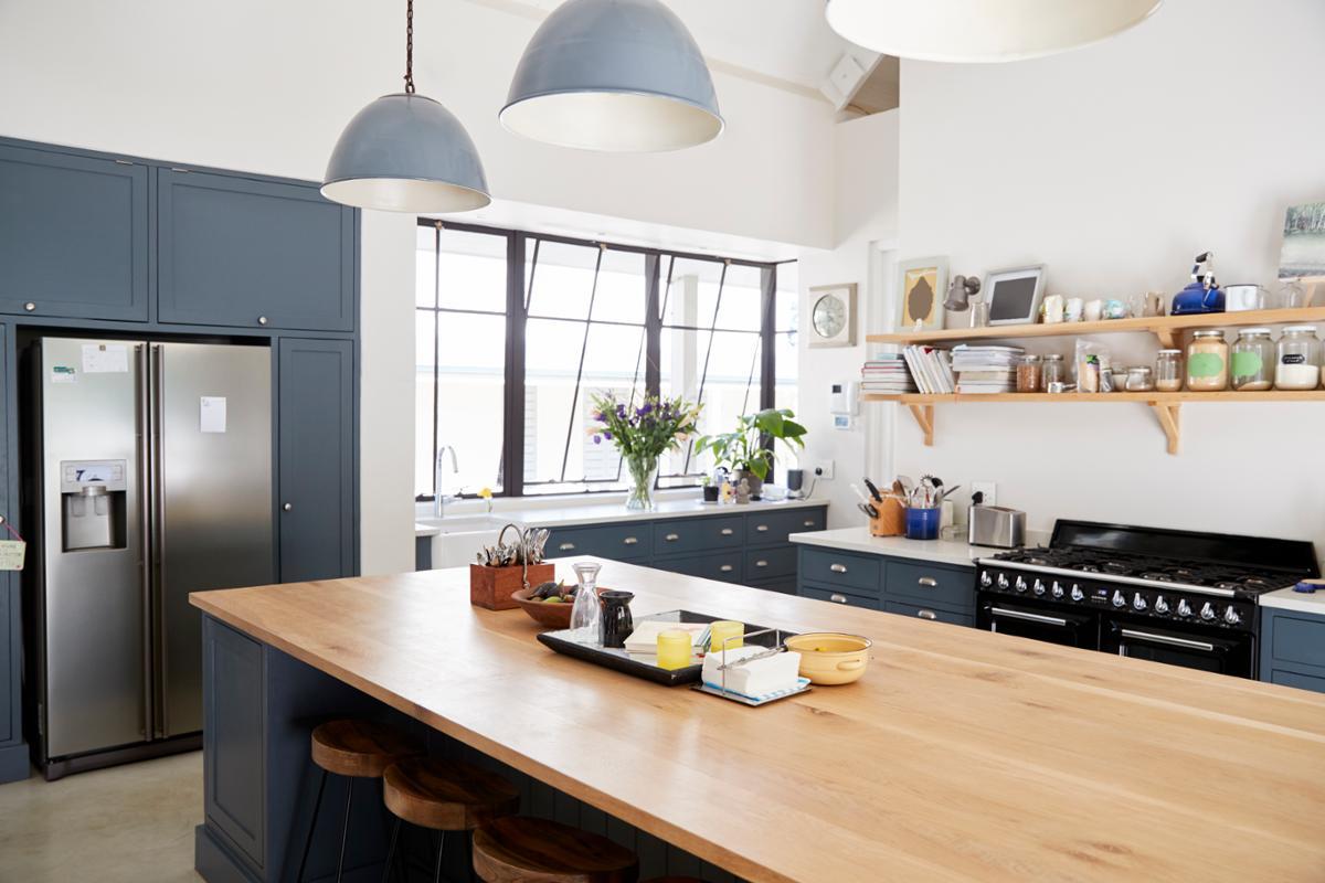 Credenza Cucina Anni 40 tavolo lavoro cucina